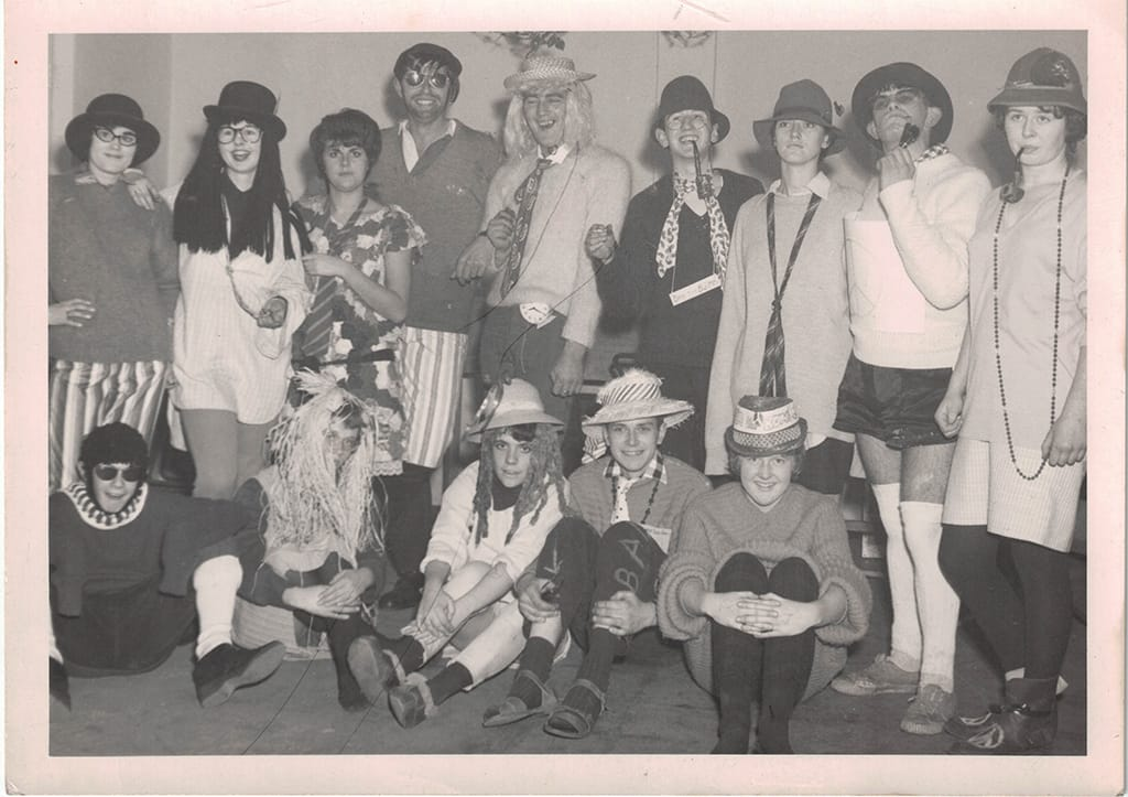 Picture from a party in 1960s!