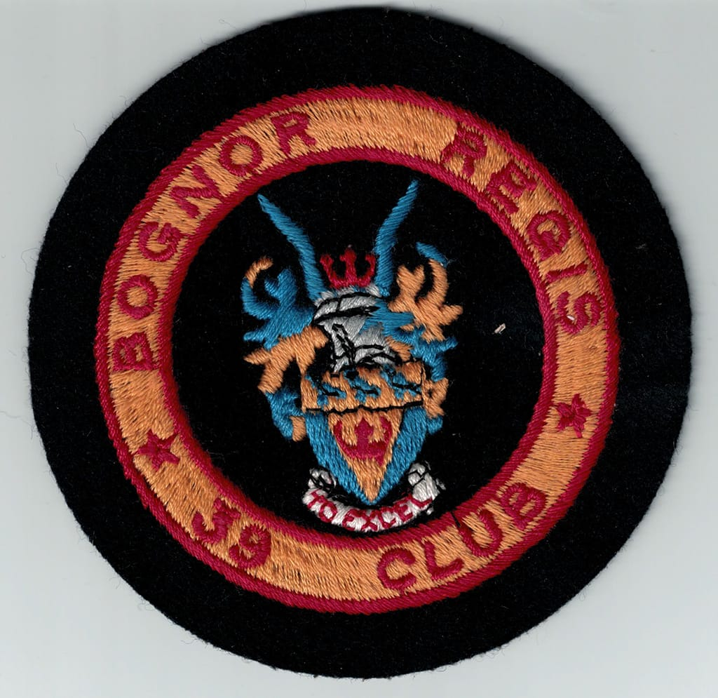 Blazer badge from the 1960s