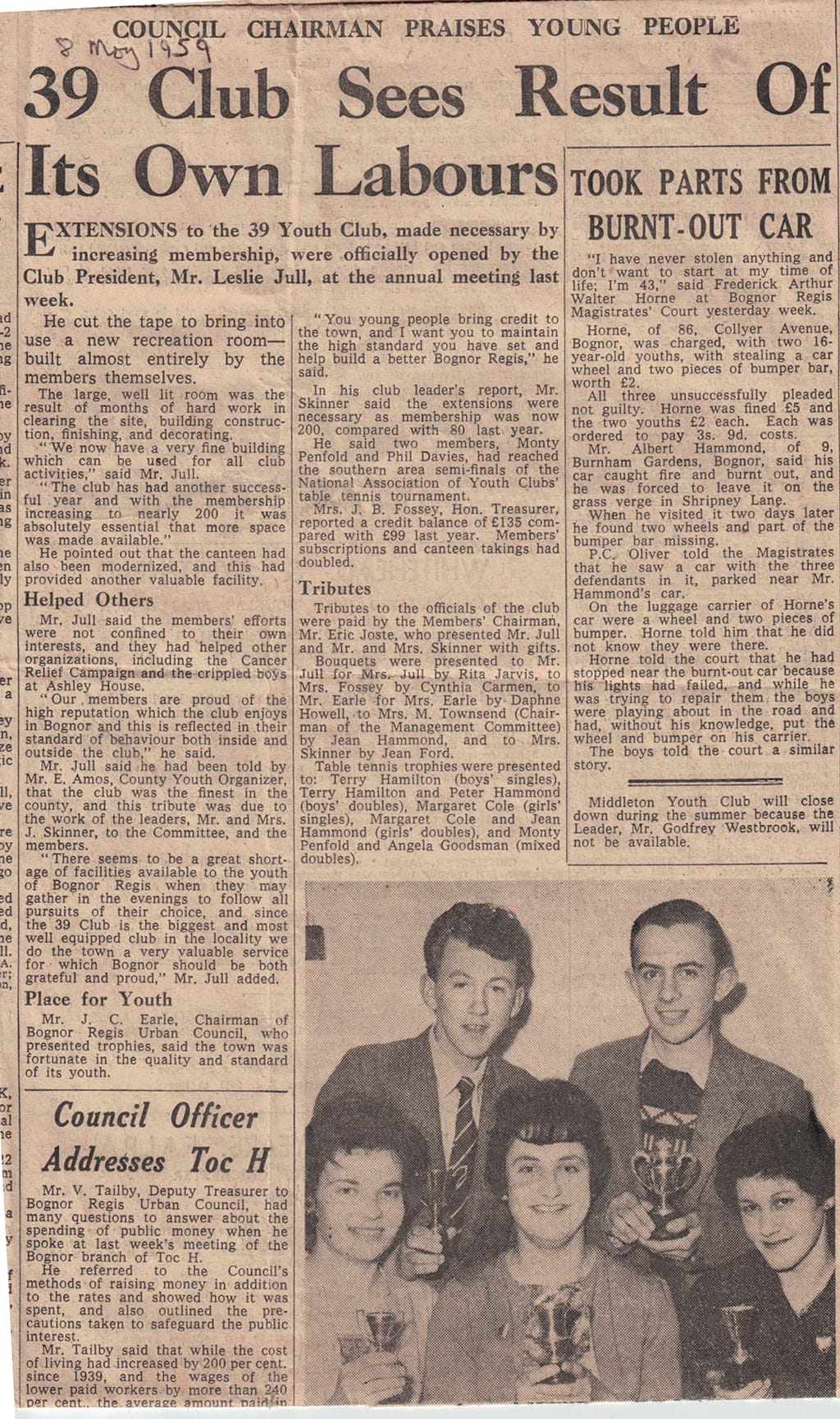 1960s news article